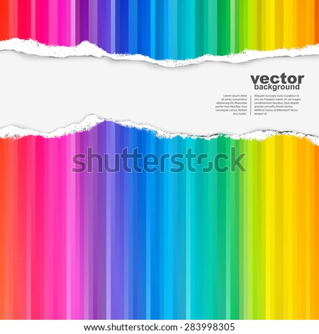 Vector abstract background with spectrum
