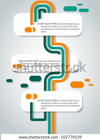 Vector abstract banners - stock vector