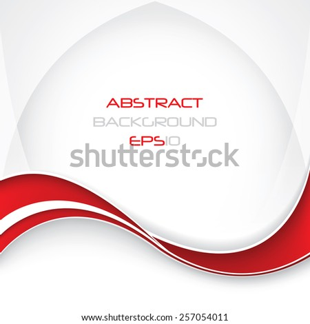 Vector abstract business background - stock vector