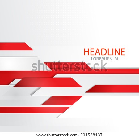 Vector abstract business background lines template stock vector vector abstract business background with lines template brochure design technology lines red modern accmission Gallery