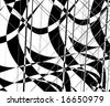 VECTOR Abstract CHESS and dama background - stock photo