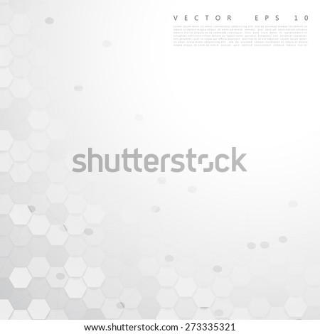 Vector abstract color 3d hexagonal. Background with hexagon element - stock vector