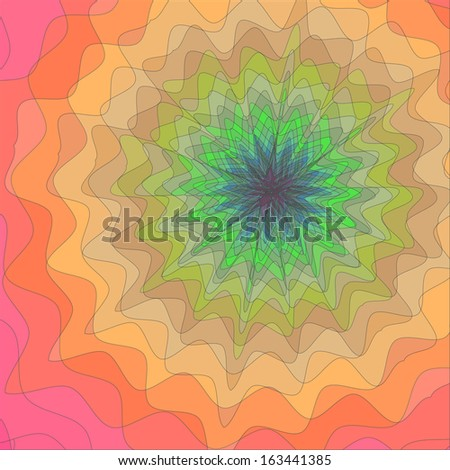 Vector Abstract Colorful Background - stock vector