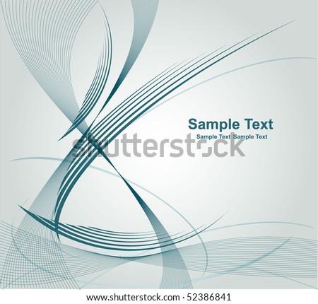 vector abstract design - stock vector