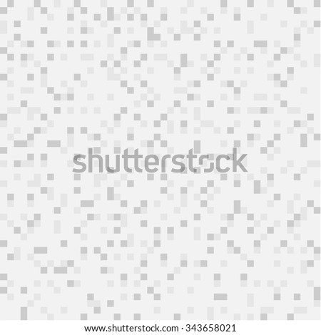 Vector abstract digital background of grey pixels, square design - stock vector