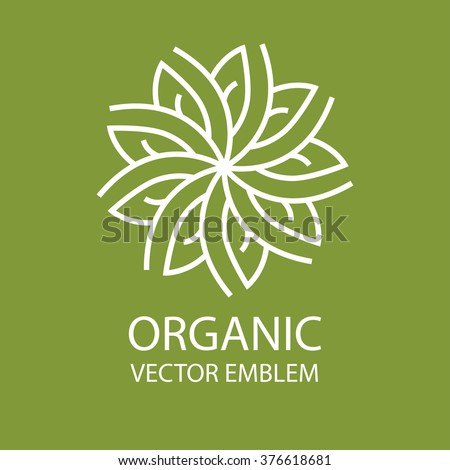 organic food logo stock images royaltyfree images