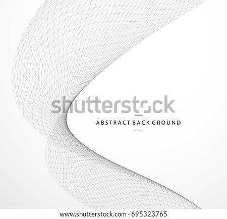 Vector abstract geometric background. Grid construction. For business, science, technology design.