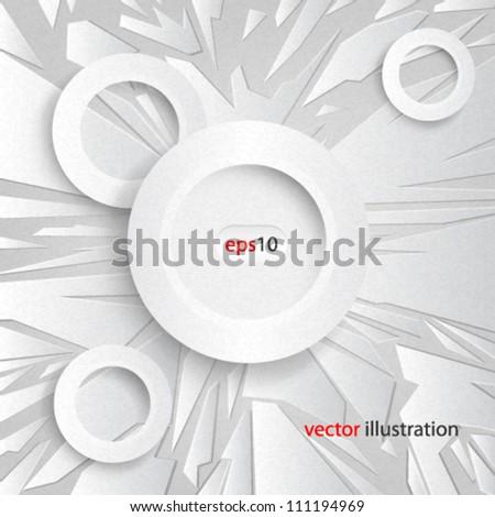 Vector abstract Grainy Textured Design - eps10 - stock vector