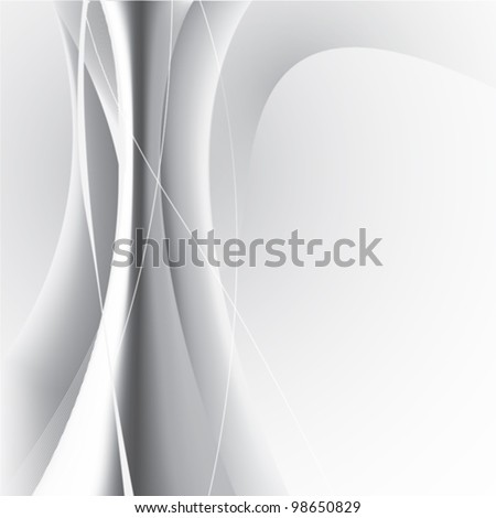 Vector abstract on a grey background - stock vector