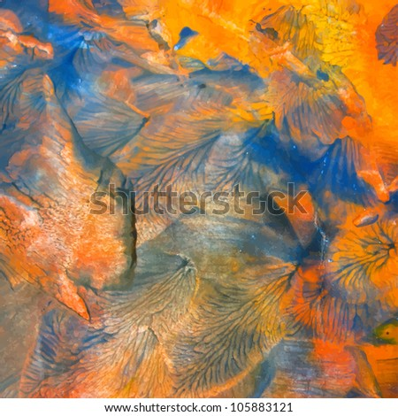 vector abstract painting background - stock vector