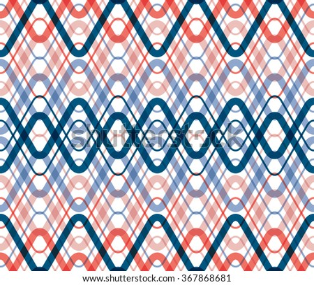 vector abstract pattern, waves. Pattern background. - stock vector