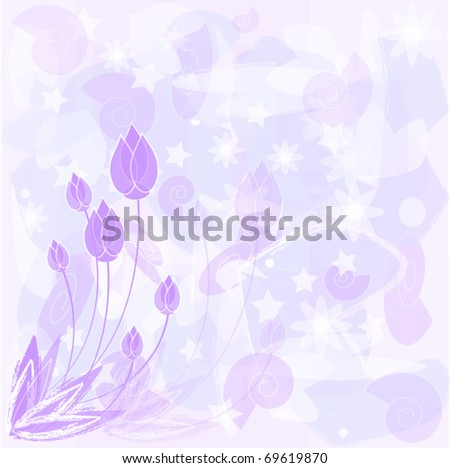 Vector abstract purple background for different uses - stock vector