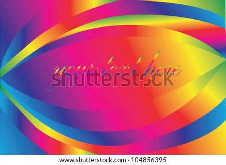 Vector - Abstract rainbow background.