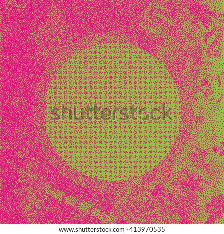Vector abstract round dotted background. Vivid bright dots pattern. Circles colorful vector illustration. - stock vector