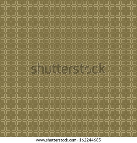 Vector abstract seamless pattern. Brown squares background - stock vector