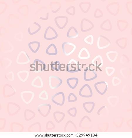 Vector Abstract Seamless Pattern Girls Modern Stock Vector 529949134