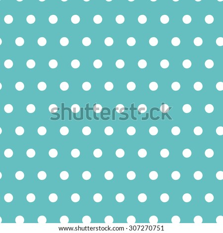 Vector abstract seamless pattern with dots. Polka dots background - stock vector