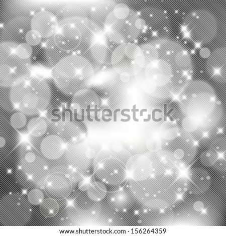 Vector abstract silver celebration background, party concept.