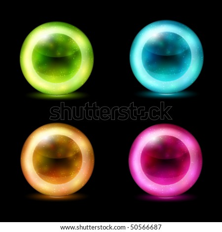 vector Abstract Sphere Design - stock vector