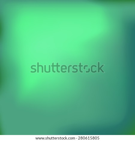 Vector Abstract Spring Green Background for Your Design. - stock vector