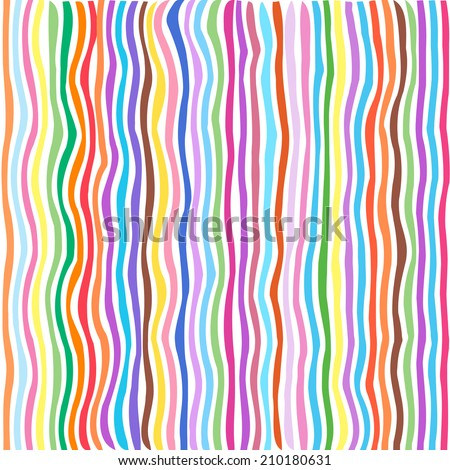 Vector abstract striped background. Seamless stripes.  - stock vector