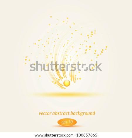 Vector abstract swirl - stock vector