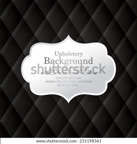 Vector abstract upholstery background. Can be used in cover design, book design, website background, CD cover, advertising. - stock vector