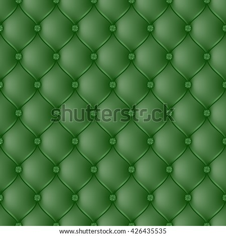 Vector abstract upholstery dark green background. Can be used in cover design, book design, website background, CD cover, advertising.