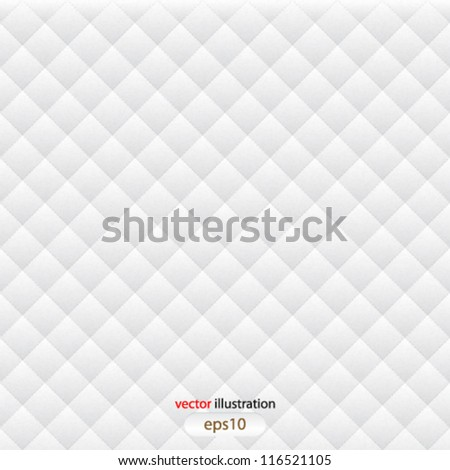 Vector abstract white seamless background - eps10 - stock vector