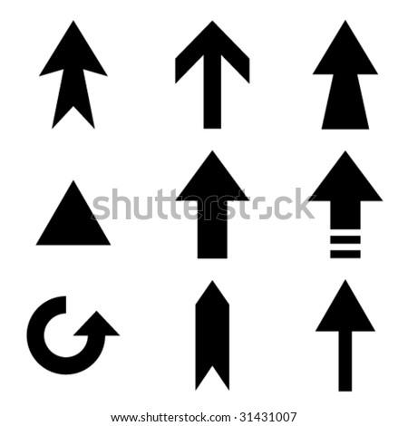 vector arrows collection - stock vector