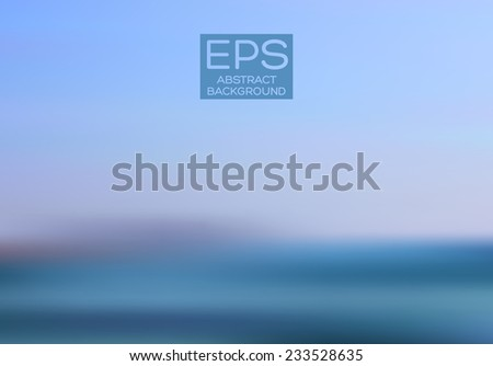 Vector art. illustration of soft colored abstract background. Web and mobile interface template. Travel corporate website design. Minimalistic backdrop.Editable. Blurred. Landscape. Light rays - stock vector