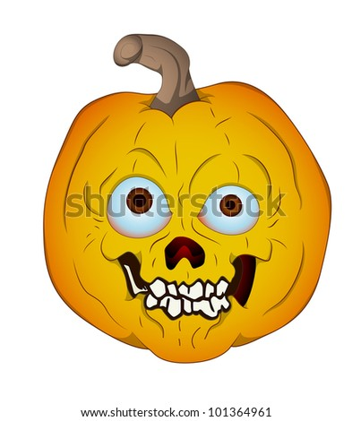 Vector Art of Jack O Lantern