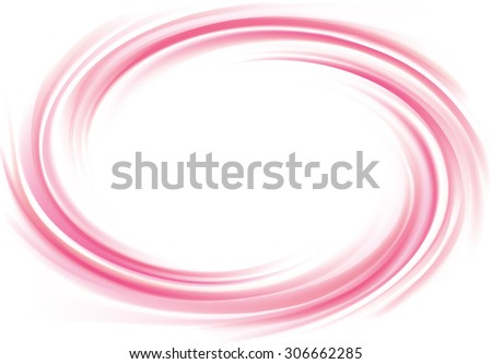 Vector art radial rippled curvy backdrop. Whirl surface with space for text in white center.  - stock vector