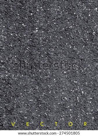 vector - asphalt texture background - stock vector
