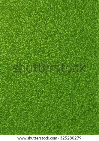 Vector auto traced background texture of fresh green grass. - stock vector