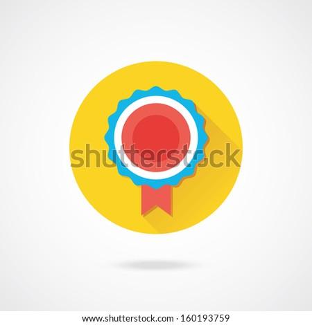 Vector Award Icon - stock vector