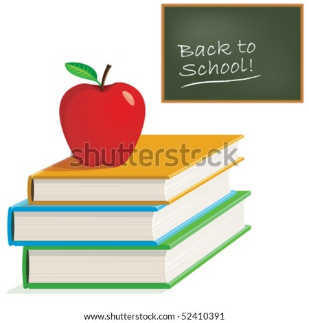 Vector Back to School Design Elements