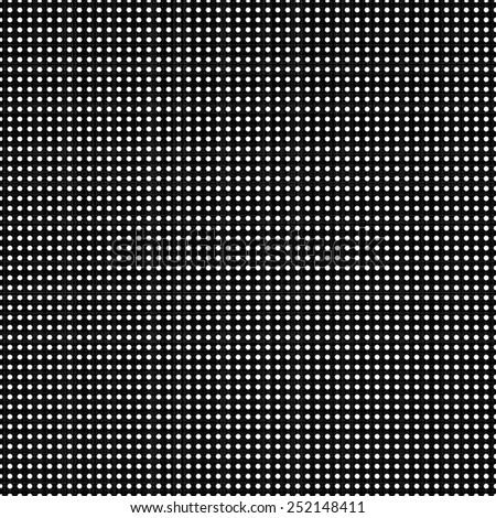 vector background. black fabric texture in a white point - stock vector