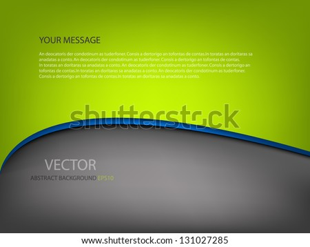 vector background dimension 3d graphic message board for text and message design frame line shadow for modern web design - stock vector