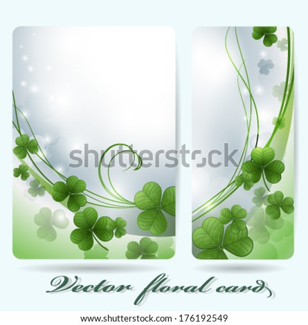 Vector background for St. Patrick's Days  - stock vector