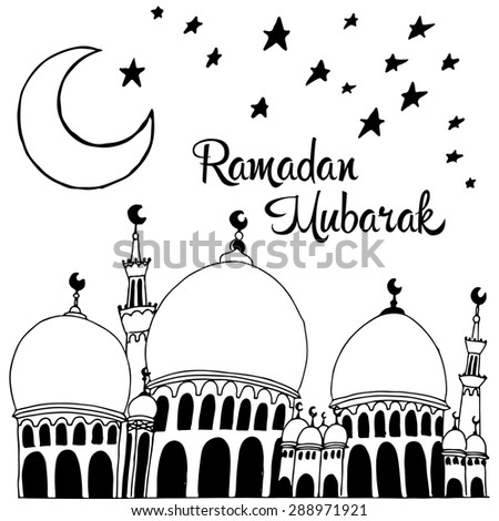 Vector background greeting card ramadan mubarak stock vector vector background greeting card ramadan mubarak m4hsunfo