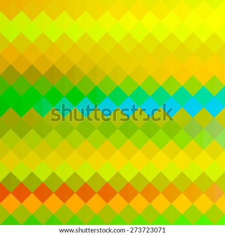 Vector background - pattern with rhomboids - stock vector