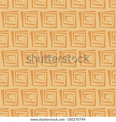 vector background, seamless pattern with yellow elements, geometric design, vector illustration