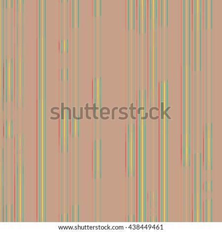 Vector background thin vertical bright lines on beige background