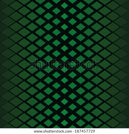 vector background with green elements, geometric design, vector illustration