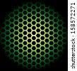 Vector background with hexagons. - stock vector