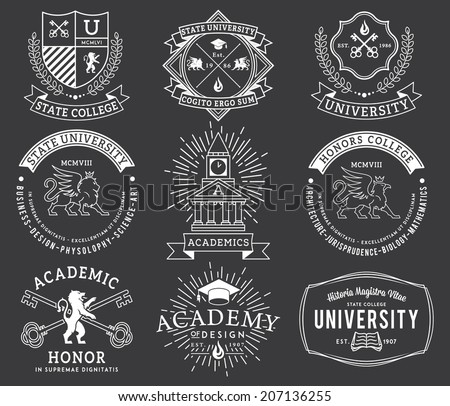 Vector badges for any use - stock vector