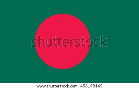 Vector Bangladesh flag