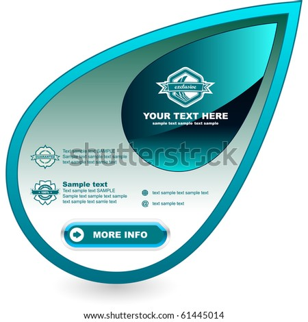 Vector banner for sale. - stock vector