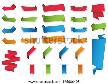 Vector Banners and Labels/Vector Banners and Labels - stock vector